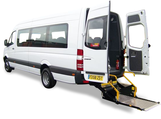 Wheelchair Accessible Minibus Leasing Phvc