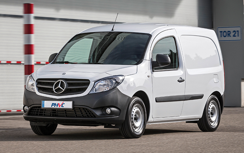 Photograph of Mercedes-Benz Citan Long Diesel Panel Van 109CDI