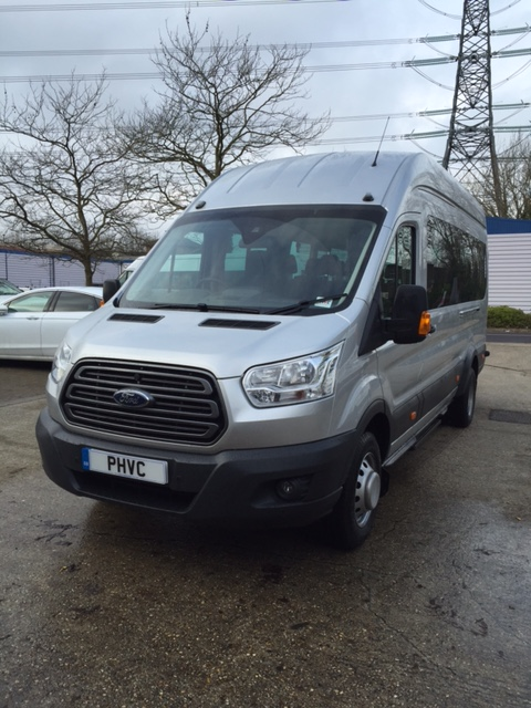 Photograph of Ford Transit 17 Seater