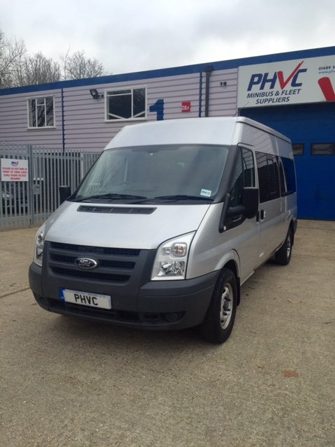 Photograph of Ford Transit 14 Seater