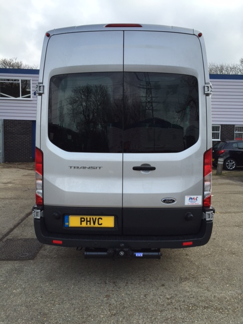 Photograph of Ford Transit 17 Seater Ex Demonstrator