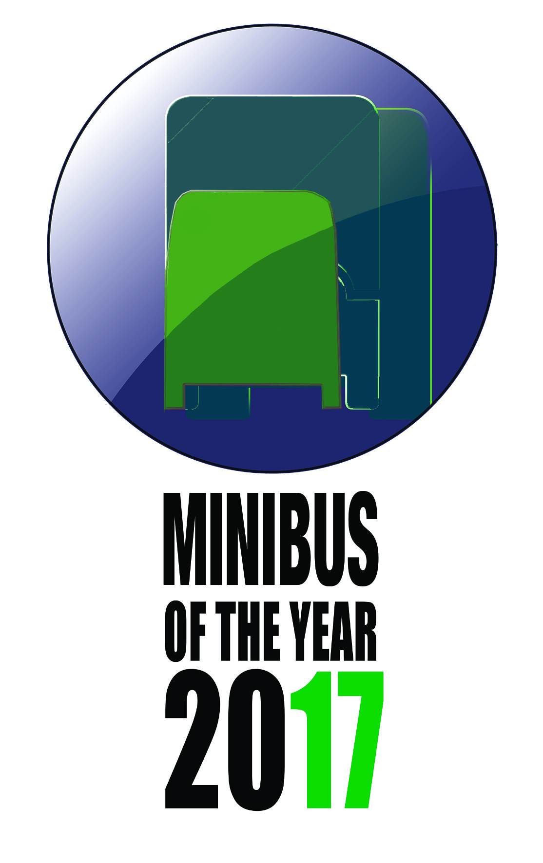 Minibus Of The Year 2017 Logo.