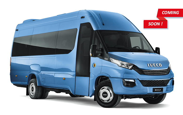 The All New Iveco 22 23 Seater Bus Setting New Standards