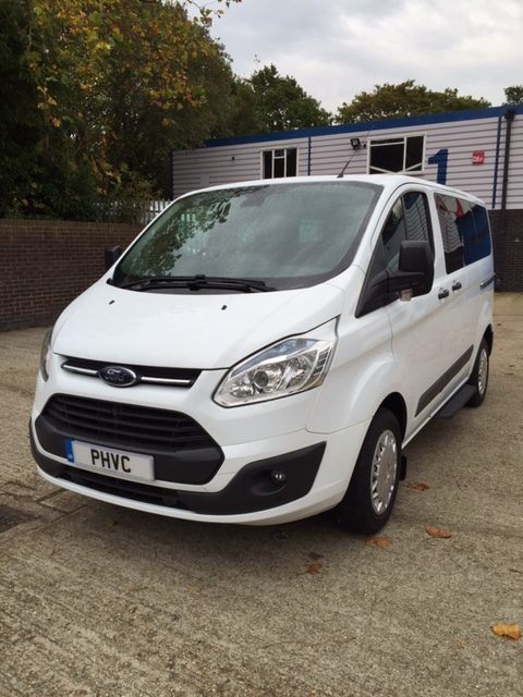 Photograph of Ford Transit Custom 9 Seater