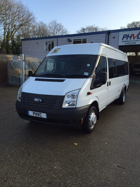 Photograph of Fully Accessible Ford Transit 17 Seater