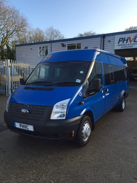 Photograph of Ford Transit Accessible 17 Seat Minibus