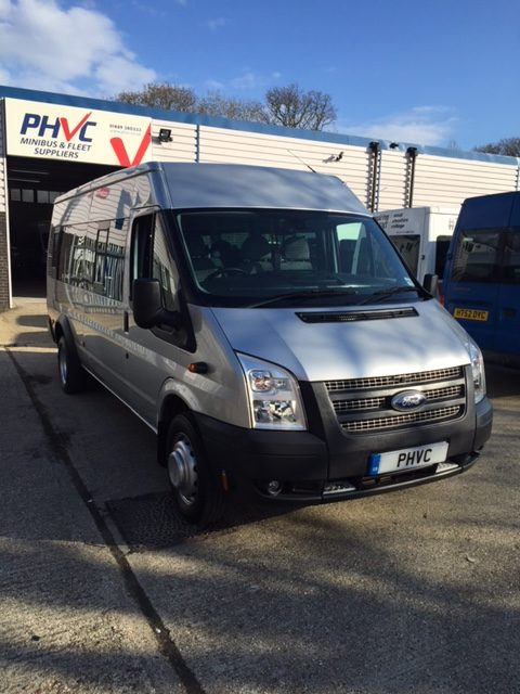Photograph of Ford Transit 17 Str Wheelchair Accessible Minibus