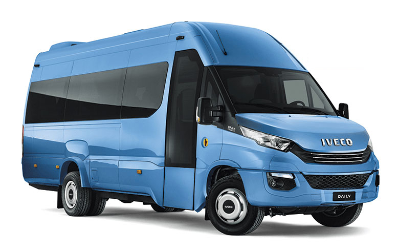Masywnie The All New IVECO 22/23 Seater Bus Setting New Standards In Comfort. FW98